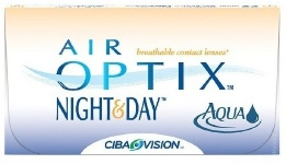 АКЦИЯ!!! AIR OPTIX Night & Day Aqua (уп. 3шт.)+ Alcon р-н PureMoist 60 ml