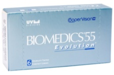 Biomedics 55 Evolution 1 шт